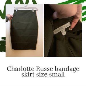 Bandage body con skirt